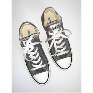 Converse All Star Low Tops Gray Unisex